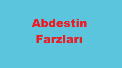 Photo of Abdest Farzları